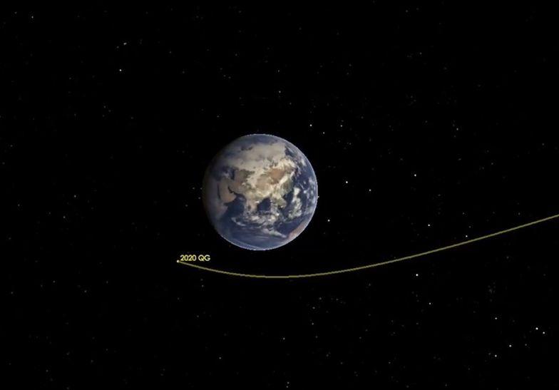 Asteroida nigdy nie była tak blisko. Naukowcy nic nie wiedzieli