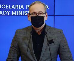 Konferencja ministra zdrowia. Adam Niedzielski o kolejnych obostrzeniach