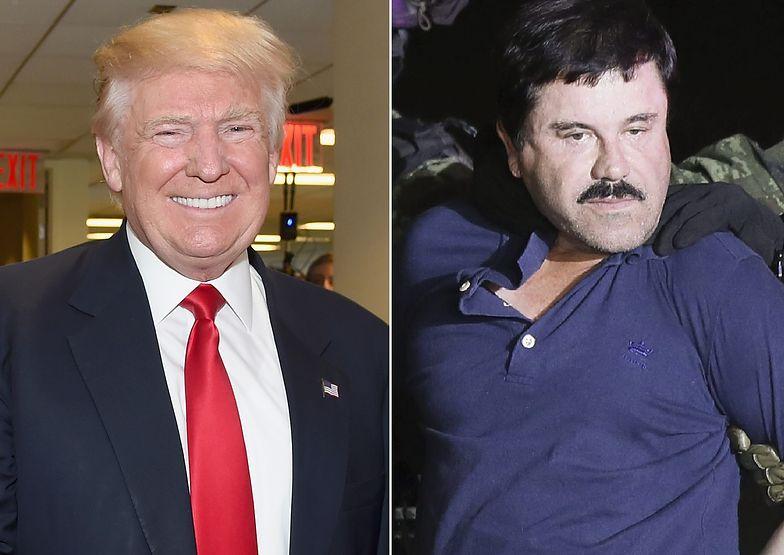 Słynny baron narkotykowy uderzył w Trumpa