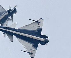Dwa chińskie myśliwce przechwyciły amerykański samolot w rejonie Hongkongu