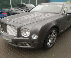 Warszawa. Auto warte 2 mln zł. Bentley odzyskany