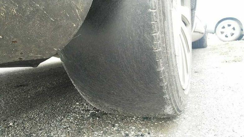 Jelenia Góra. Audi przeszło przegląd techniczny, choć nie powinno poruszać się po drodze