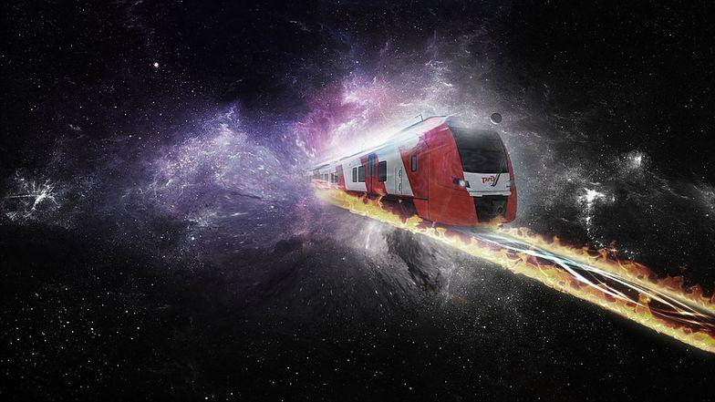 Kosmiczny pociąg: rosyjski pomysł na eksplorację Marsa