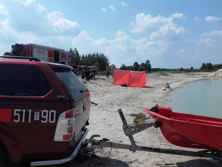 Tragedia koło Włoszczowy. 14-latek utonął w zbiorniku