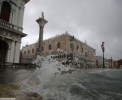 Dramat w Wenecji. Uderzyła kolejna fala powodziowa