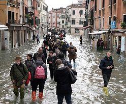 Powódź w Wenecji. Relacja Polki: jest naprawdę ciężko