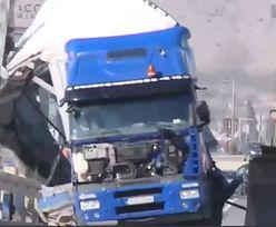 Wichury w Chorwacji. Podmuchy przewracały ciężarówki na autostradzie