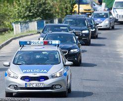 Kolizja SOP w Warszawie. Kierowca potrącił rowerzystkę