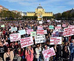 Szokujaca zbrodnia w Chorwacji. Tłumy protestujących