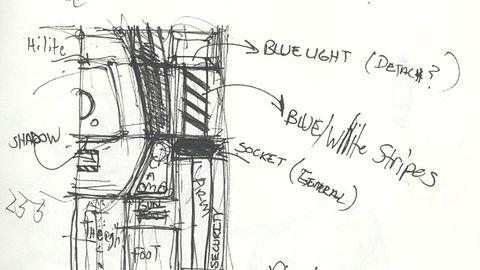 Szkice koncepcyjne z System Shock 2