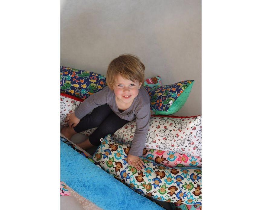 Długa poduszka dla dziecka