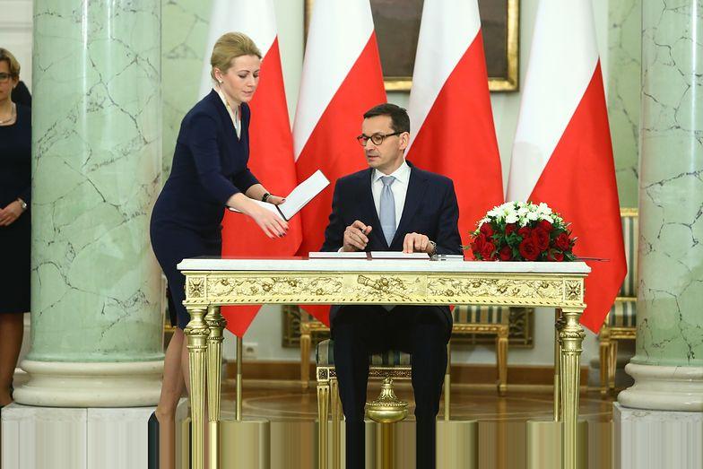 Morawiecki został premierem w momencie wysokich notowań PiS