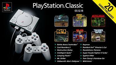 Poznaliśmy listę gier na Playstation Classic