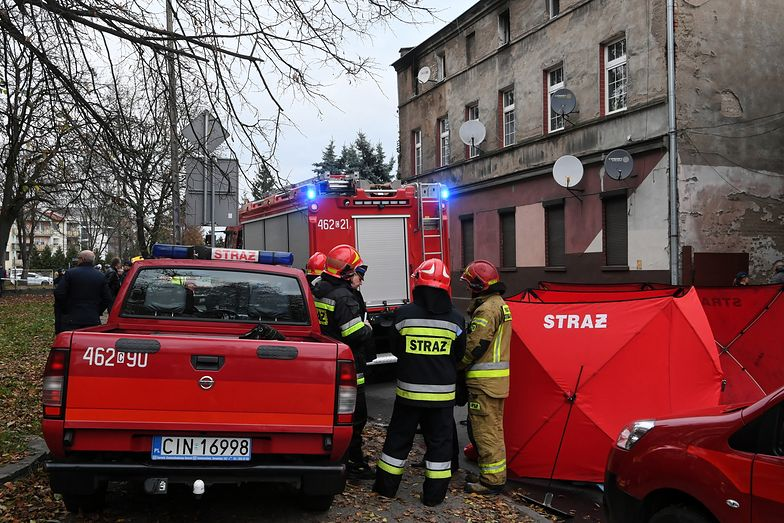 Inowrocław. Pożar w kamienicy, nie żyją cztery osoby