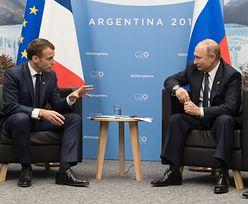 Merkel i Macron rozmawiali z Putinem. Nalegali, by uwolnił ukraińskich marynarzy