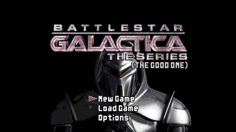 Boskie! Battlestar Galactica w skrócie z retro grafiką