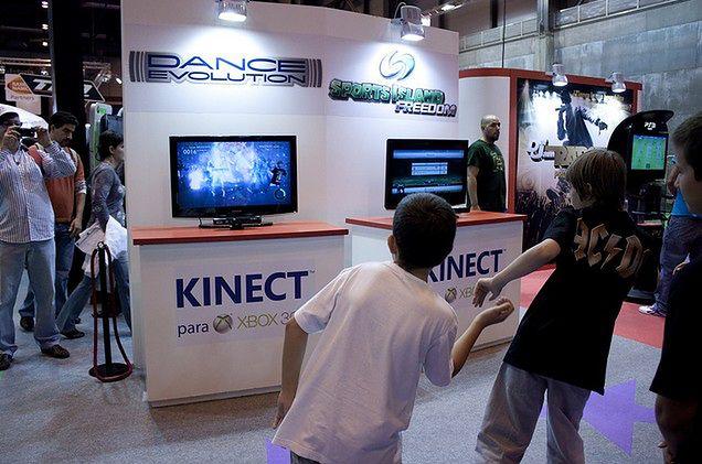 Taniec z Kinectem