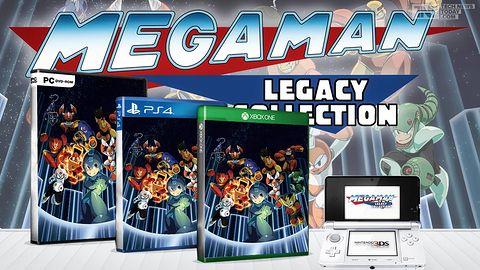 Krótka piłka: Mega Man Legacy Collection zabierze na wycieczkę w przeszłość jeszcze w sierpniu