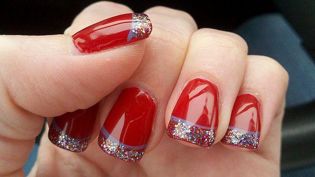 Modne kolory paznokci na Święta