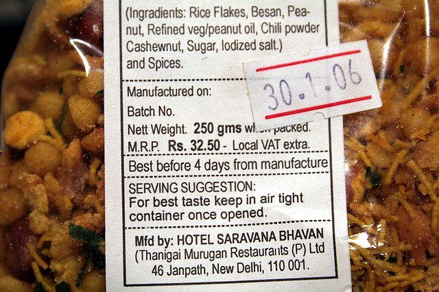 Rozsądne zakupy - data ważności produktu