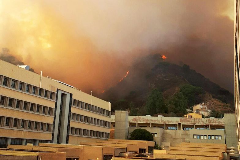 Sycylia: 700 turystów ewakuowanych z powodu pożaru