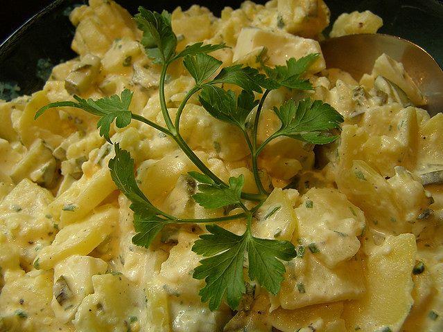 Sałatki na bazie majonezu