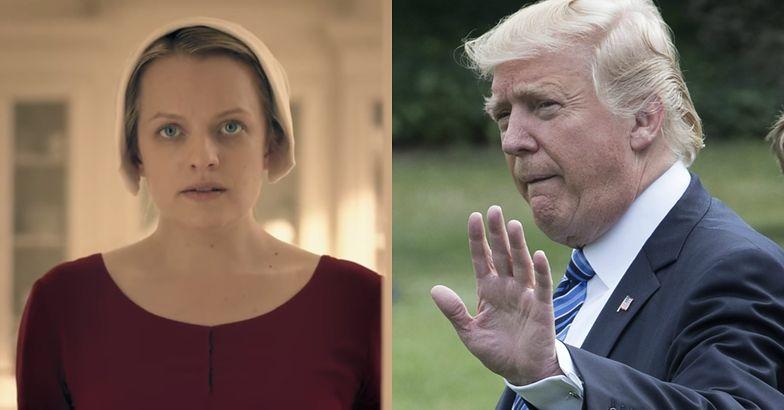 """Polki chcą powitać Trumpa w kostiumach z """"Opowieści podręcznej"""""""