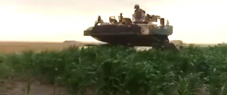 Armia USA najechała wieś w Rumunii. Ludzie uciekali w popłochu