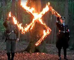 Swastyki z płomieni i wafelków. Miłośnicy Hitlera dostali pieniądze z odpisów podatkowych