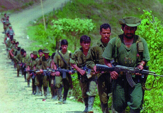 Partyzanci FARC (Domena publiczna)