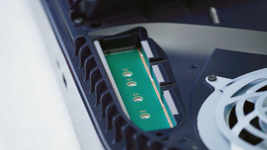 PlayStation 5 wkrótce z możliwością zainstalowania dysków M.2 SSD, fot. Sony