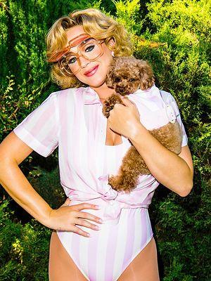 """Katy Perry i jej pies są już prawie weganami. """"Módlcie się za nas"""""""
