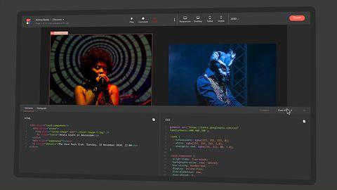 Anima. Zaprojektuj witrynę, a aplikacja zamieni ci ją w kod React Javascript