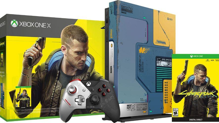 Xbox One X w limitowanej edycji Cyberpunk 2077