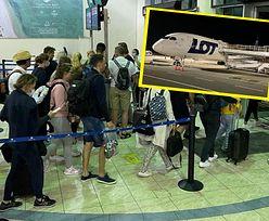 Potworne wieści. Awaria samolotu LOT. Polacy nie wrócą do domu