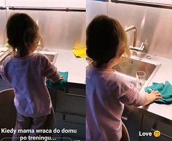 Anna Lewandowska dumna z córki. Klara zrobiła jej niespodziankę