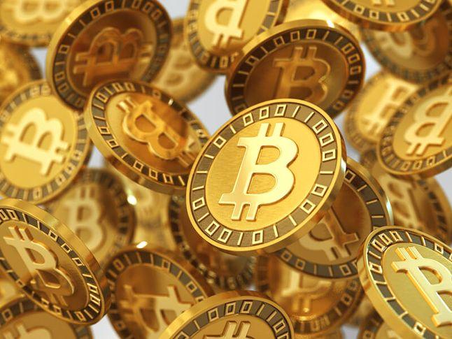 Bitcoin (grafika z czeluści internetu)