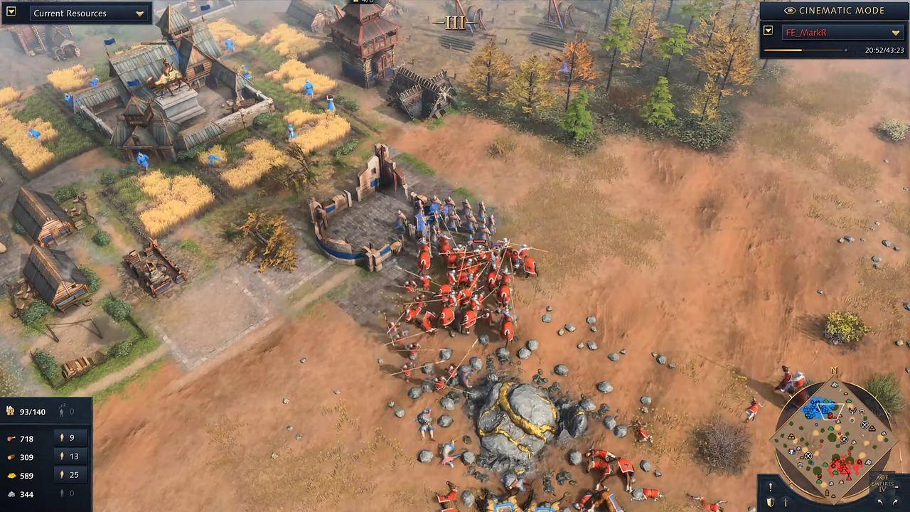 Age of Empires IV. 43 minuty rozgrywki z trybu wieloosobowego - Age of Empires IV