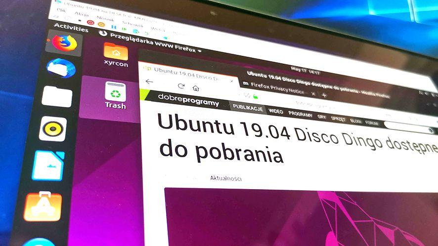 Ubuntu 19.04 na Windowsie 10 z Hyper-V - instalacja to jedno kliknięcie