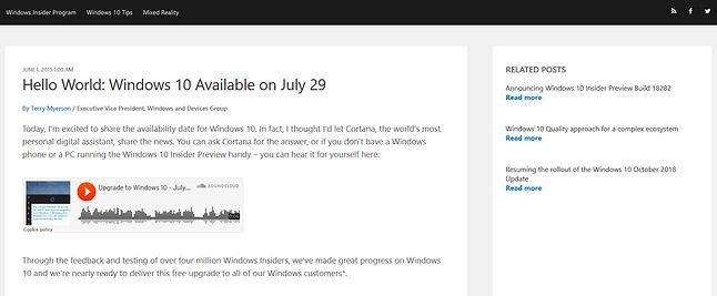 Od wydania oryginalnej wersji Windows 10 minęły już ponad trzy lata...
