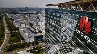 Ustawodawcy USA wyłożą 1,9 mld dolarów na zastąpienie Huaweia i ZTE - Logo Huaweia (Getty Images)