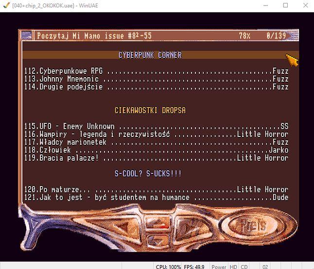 Fuzz opanował dział Cyberpunk - warto poczytać o filmie Johnny mnemonic!