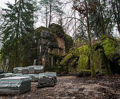 Mazury. Budowa na Wilczym Szańcu. Wizja Lasów Państwowych się urzeczywistnia