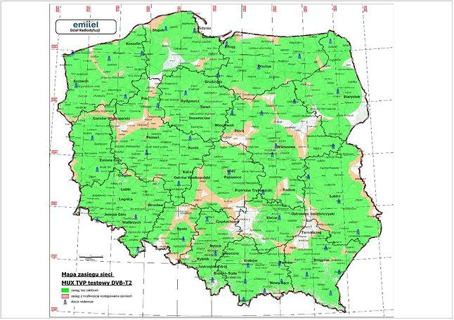 Od 1 maja 90 proc. Polaków będzie w zasięgu testowego sygnału DVB-T2.