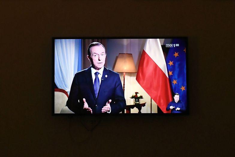 """Czarnek komentuje orędzie marszałka Grodzkiego. """"Skandaliczne"""""""