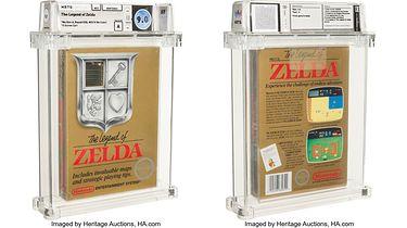 Rekord pobity! The Legend of Zelda najdroższą grą w historii - Kartridż The Legend of Zelda na NES