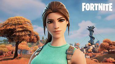 6 sezon Fornite. Można zagrać jako Lara Croft i Neymar - Fortnite - Lara Croft