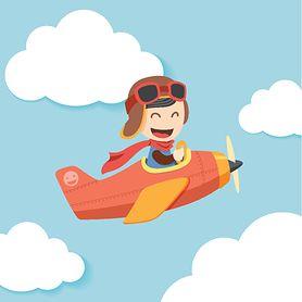Pierwsza podróż samolotem z dzieckiem