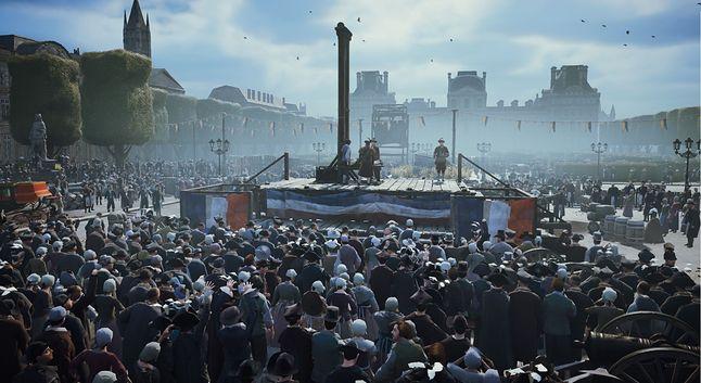 Takie tłumy to była codzienność w Paryżu