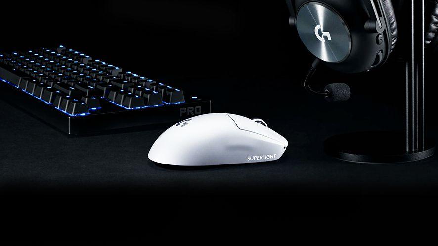 Logitech G Pro X Superlight - waży zaledwie 63 gramy, fot. Logitech